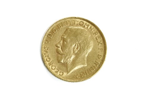 Lot 45-A full sovereign dated 1911