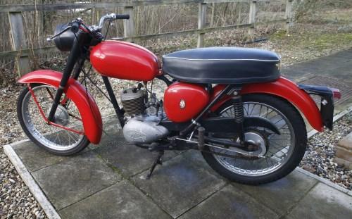 Lot 3-A c.1960 BSA Bantam D7 175 motorcycle