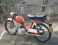 Lot 5-A 1973 Garelli 49cc pedal moped