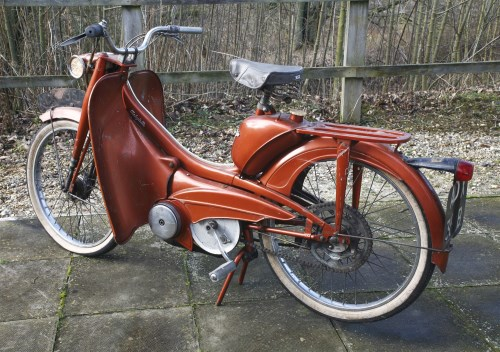 Lot 6-A 1964 Mobylette 50cc pedal moped