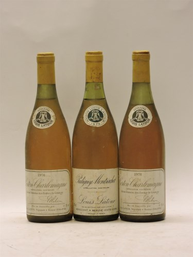 Lot 1-Assorted White Burgundy to include: Puligny-Montrachet