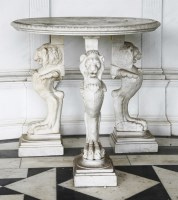 544 - An Italian marble table