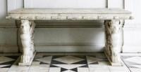 543 - An Italian rectangular Istrian marble table
