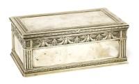 229 - A Russian silver box