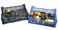 Lot 77 - A collection of unboxed die cast cars