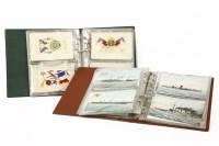 Lot 93 - A collection of ten World War I silk postcards