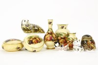 Lot 88 - Four Royal Crown Derby paperweights