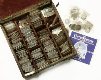 Lot 97 - A box of old coins