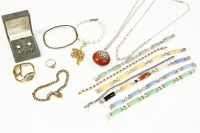 Lot 63 - A collection of costume jewellery