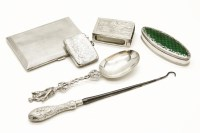 Lot 69 - A silver cigarette case