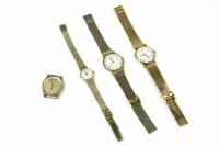 Lot 62 - A gentleman's Rotary Quartz bracelet watch