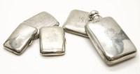 Lot 83 - An Edwardian English silver spirit flask