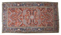Lot 327-An Heriz carpet