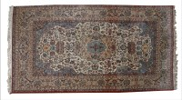 Lot 329-A modern Isfahan carpet