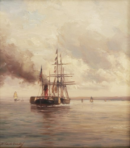 Lot 333-Hermanus Koekkoek Jr. (Dutch