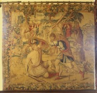 Lot 301-A Brussels mythological tapestry