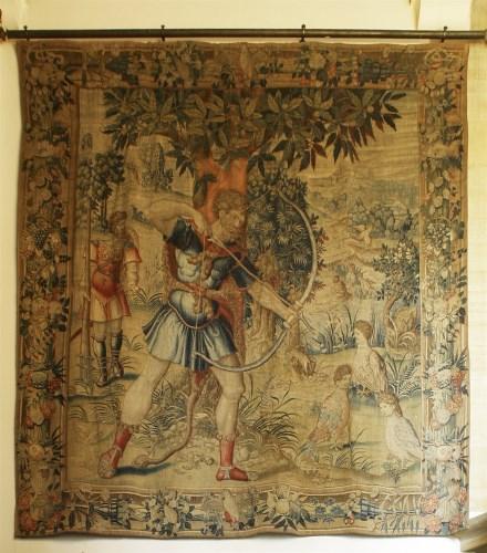 Lot 302-A Brussels mythological tapestry