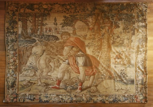 Lot 303-A Brussels mythological tapestry