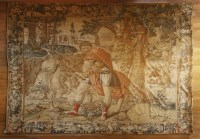 Lot 303-A Brussels mythological tapestry