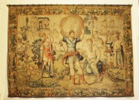 Lot 304-A Brussels mythological tapestry