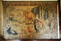 Lot 312-Lots 312 and 313 Two important Brussels tapestries from the 'History of Venus' series