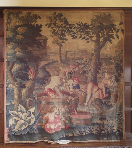 Lot 315-A tapestry panel