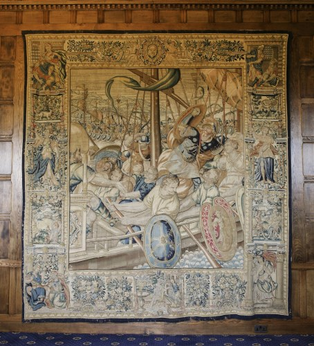 Lot 306-A Flemish historical tapestry
