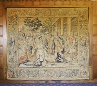 Lot 307-A Flemish historical tapestry