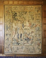 Lot 308-A Flemish historical tapestry