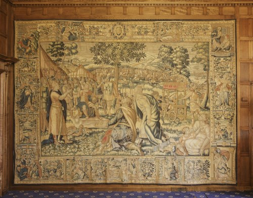 Lot 309-A Flemish historical tapestry