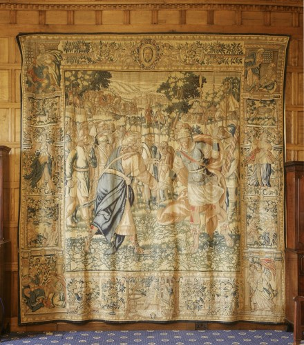 Lot 310-A Flemish historical tapestry