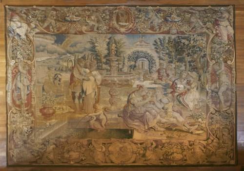Lot 314-A Florentine allegorical tapestry: spring