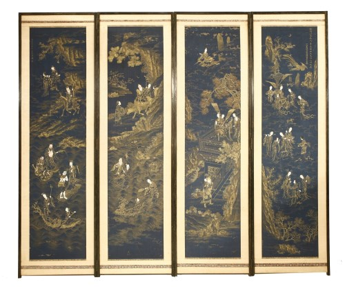 1311 - A Chinese four-fold screen