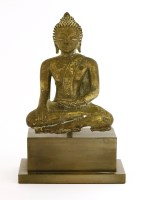 Lot 1002-A bronze Buddha