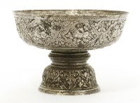 Lot 1022-A Vietnamese silver stem bowl