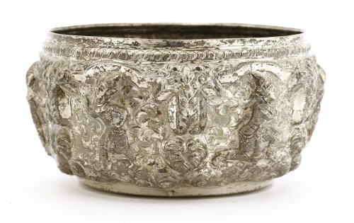 Lot 1011-A Thai silver bowl