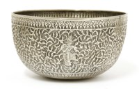 Lot 1012-A Thai silver bowl