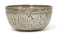 Lot 1014-A Thai silver bowl