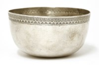 Lot 1016-A Thai silver bowl