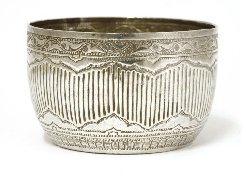 Lot 1019-A Thai silver bowl