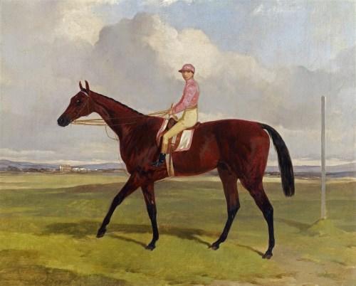 Lot 22-Harry Hall (1814-1882) 'BON MOT'