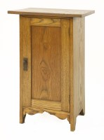 Lot 29-An oak pot cupboard