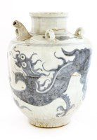 Lot 1024-A Vietnamese blue and white ewer