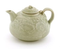 Lot 1041-A Chinese Qingbai teapot and cover