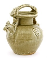 Lot 1031-A Chinese Yue ware ewer