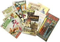 Lot 654-A collection of comics