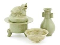 Lot 1048-A Chinese celadon bowl
