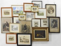 Lot 656-A quantity of pictures
