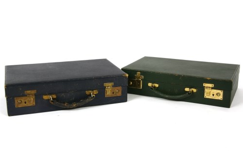 Lot 641-Two early to mid 20th century writing cases