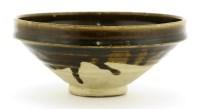 Lot 1-A Chinese Henan kiln black-glazed bowl